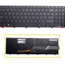 SSEA новая американская клавиатура с подсветкой для Dell Inspiron 17 5000 Series 17-5748 17-5749 5748 5749 5759