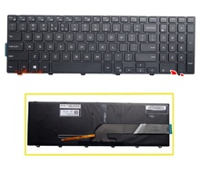 SSEA New US Keyboard with backlight For Dell Inspiron 17 5000 Series 17-5748 17-5749 5748 5749 5759(China)