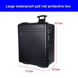 Caja de equipo de varilla de tracción grande de alta calidad resistente al agua y a la humedad la caja de herramientas