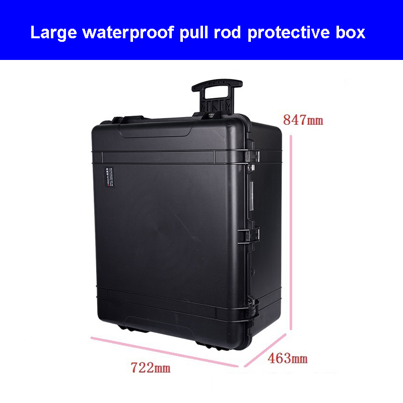 High Quality Large Pull-rod Box Equipment Box Waterproof And Moisture-proof Instrument Protective Tie Rod Box Safety Tool Case