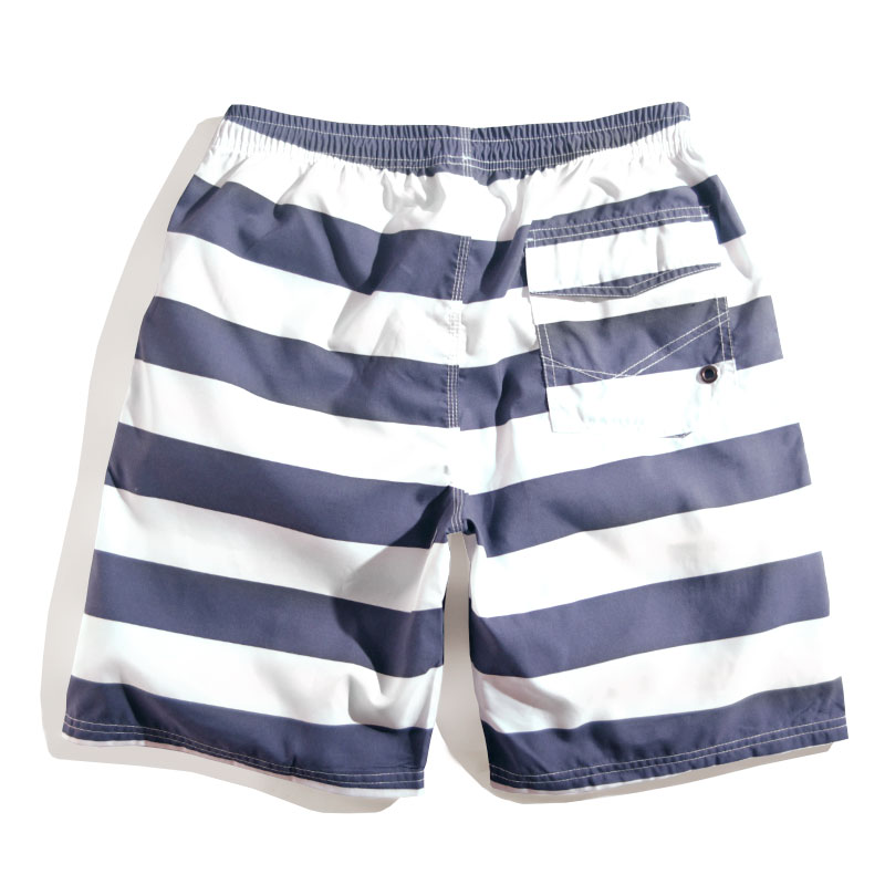 f12e662c42bd Swim Shorts Men Short Pants Beach Seashore Quick Dry Sexy Swimwear Men  Summer Striped Swimming Trunks Sport Swimsuit Plus Size-in Men's Briefs  from Sports ...