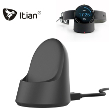 Original iTian Qi Wireless Charger Smart Watch Stand Cradle Charger for Moto 360 and 2ND Gen smartWatch