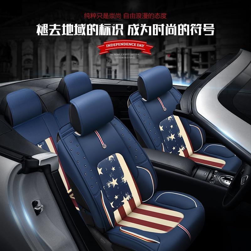 2017 New 3D Car Seat Cover ,Car Styling For Toyota Camry 40 Corolla RAV4 Verso FJ Land Cruiser LC 200 Prado 150 120