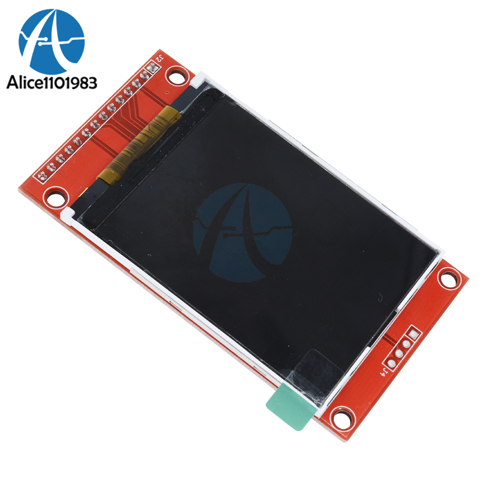 2.4 2.4 Inch 240x320 Spi Tft Lcd Serial Port Module 5v/3.3v Pbc Adapter Micro Sd Ili9341 White Led Rgb Vertical Stripe No Touch Up-To-Date Styling Electronic Components & Supplies