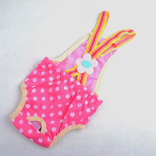 Pet Dog Rompers Panties Puppy Female Dogs Menstruation Sanitary Pants Brief