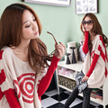 Maternity clothing spring and autumn loose batwing sleeve maternity sweater fashion spring maternity sweater top Free Shipping