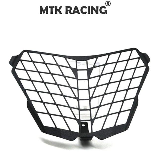 Para KTM RC125 RC200 RC 390 2014-2016 Moto Peças Acessórios Farol Lente Protetor Da Grade