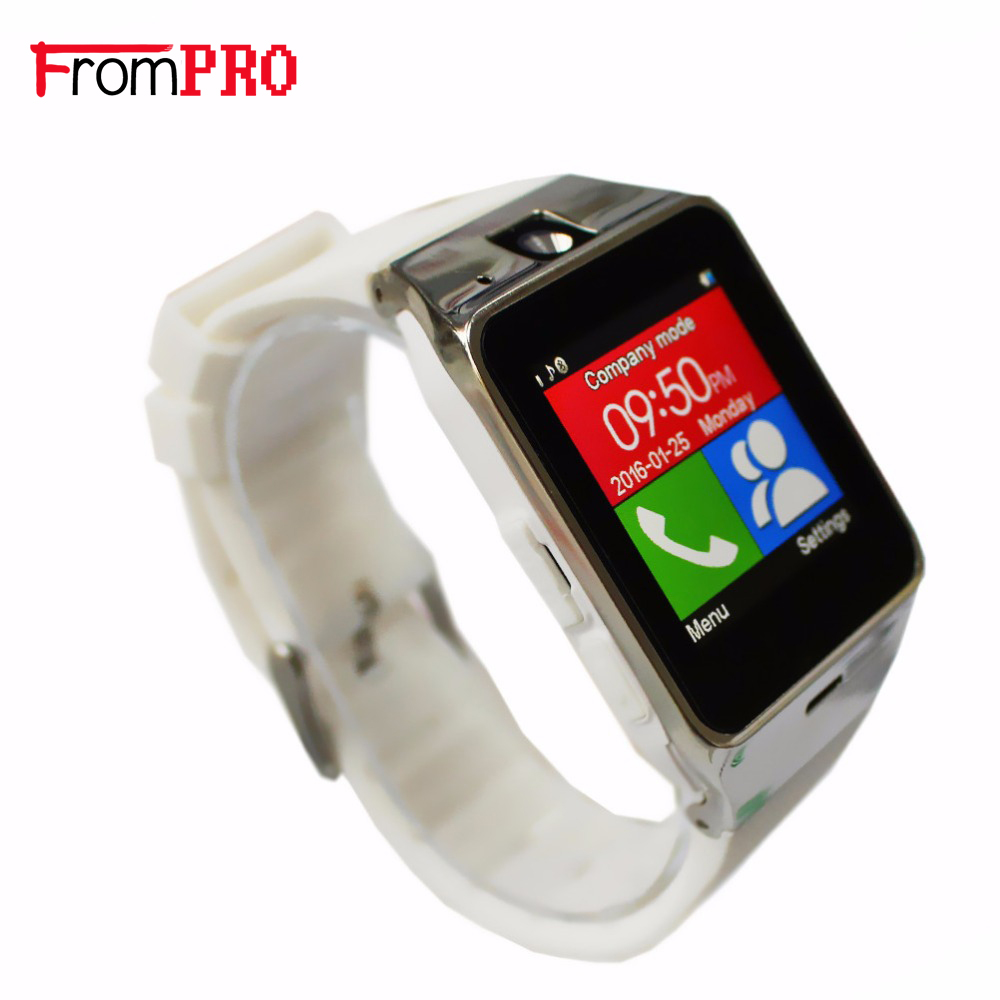 imágenes para FROMPRO G8 Android Tarjeta SIM Reloj Inteligente Reloj Bluetooth Smartwatch Impermeable Usable Dispositivos GSM Conector Montre Reloj Movil