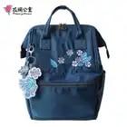 Flower Princess Backpacks Woman Ornaments Female School Backpack School Bags for Teenage Girls Travel Casual Nylon Women Bag