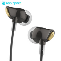 ROCKSPACE Zircon Stereo Earphone In Ear Headphone Noise Cancelling Running Earphone With Mic For Iphone 6