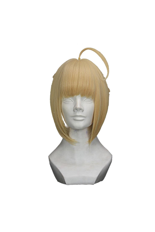 Fate/Grand Order Cosplay Wig Fate/Zero Arturia Pendragon Cosplay Wigs Saber Cosplay Wig Halloween Costumes Hair For Women