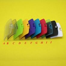 YX 058 [100 unids/lote], 10 colores opcionales para consola de juegos GBC para Gameboy, funda protectora para batería, carcasa de repuesto