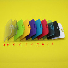 YX 058  [100PCS/LOT] 10 Colors Optional For GBC game console For Gameboy Color battery cover shell case replacement