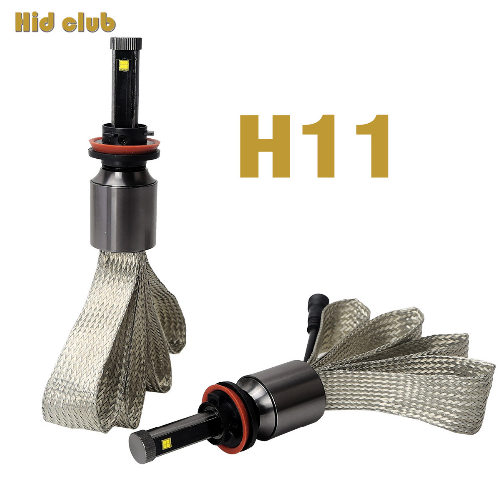 1 Set 90W 11700LM Car Led Headlight H11 Conversion Kit With Philip Chip Car Bulbs Auto
