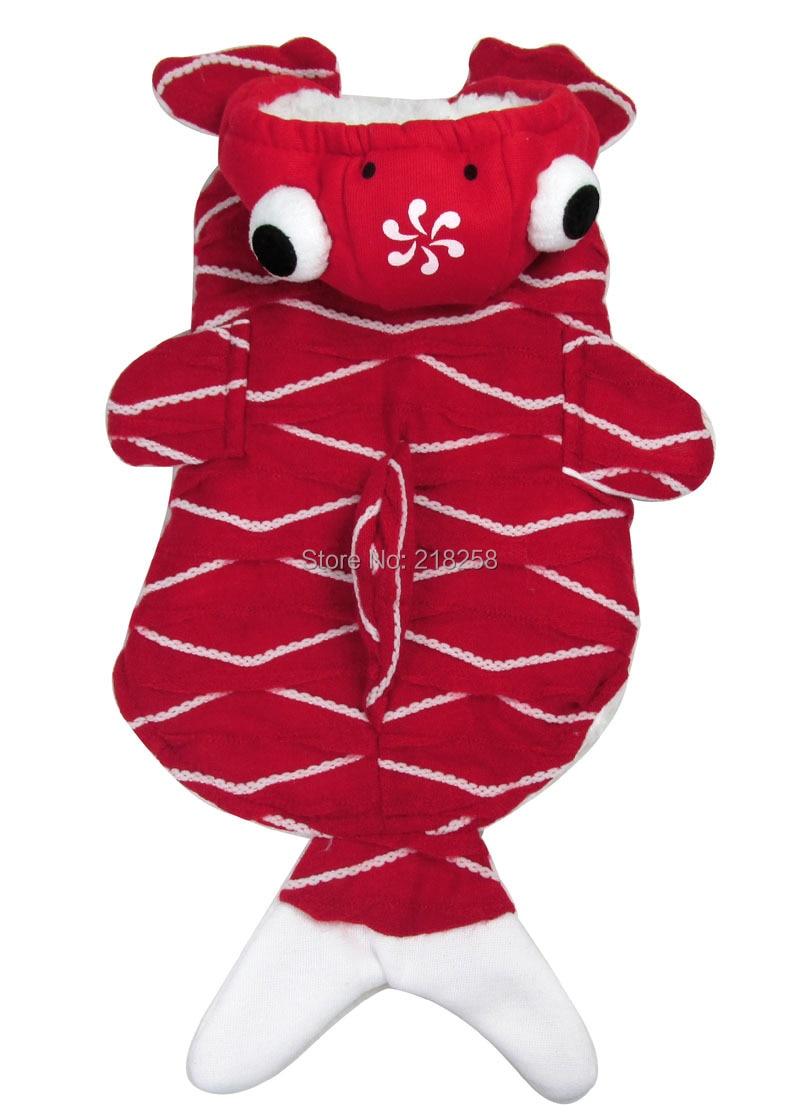 Shitje me pakicë Veshja e Re Veshja me Stilet e Kuqe të Peshkut të - Produkte për kafshet shtëpiake - Foto 5