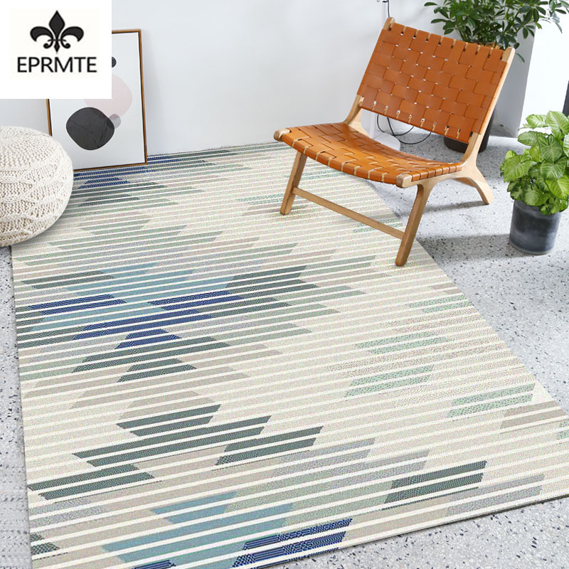 Carpet rugs geometrical simplicity decoration living room and bedroom kids long rug hot items sale furry ang soft rug eprmte
