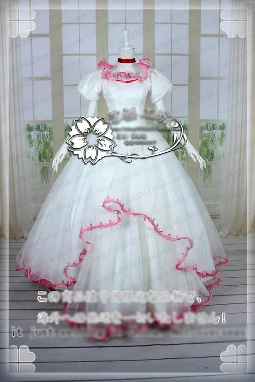 [Customize]Anime Card Captor Sakura Cosplay Costumes Illustrations dresses Lolita Dress Uniform Halloween Costumes free Women