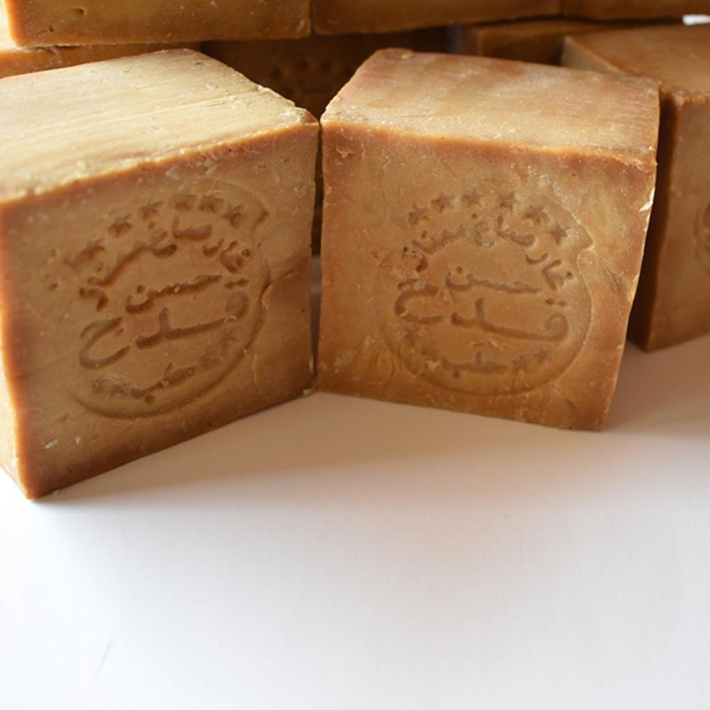 Hassan Kada Olive Oil Handmade Ancient Soap Three-year Dried Handmade Soap Imported from Syrian olive oil Aleppo 12% laurel oil