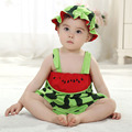 fashion fruit designer romper watermelon  one piece High quality baby summer clothes