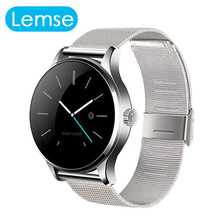 Lemse K88H Smart Watch Pulse Monitor Fitness Tracker Wristwatch for Android and iOS Pedometer Watches OLED Fashion Wristwatch