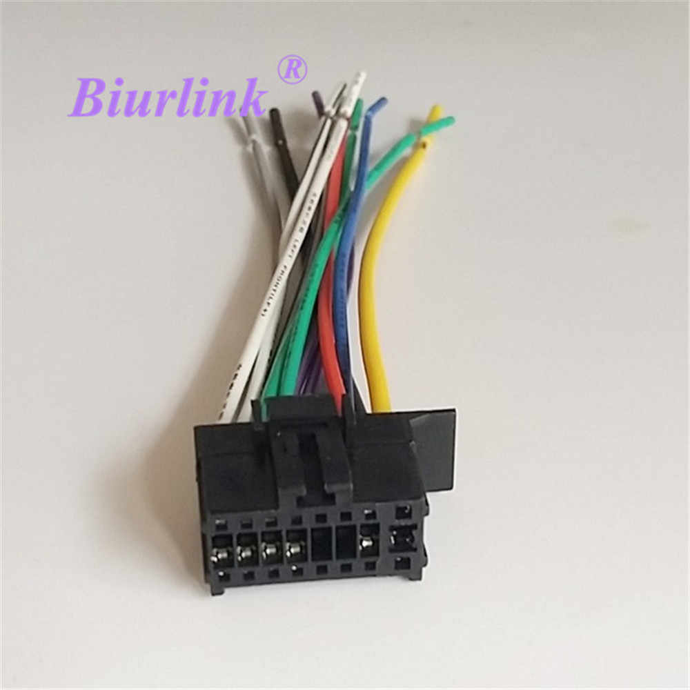 hight resolution of car radio stereo wire harness plug cable for pioneer 2350