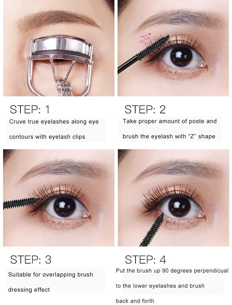 8e0cbb7acda Detail Feedback Questions about Shinny Mascara 4d Silk Fiber Eyelash ...