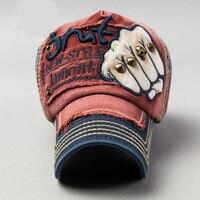 Nieuwe Collectie Unisex Lente Zomer 3D Print Vuist Klinknagel Baseball Caps Professionele Mannen Studs Piek Hoeden Persoonlijkheid Cap