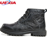 Luxury Designer Men S Boots Patent Leather Formal Wedding Warm Plush Fur Round Winter Ankle Boots