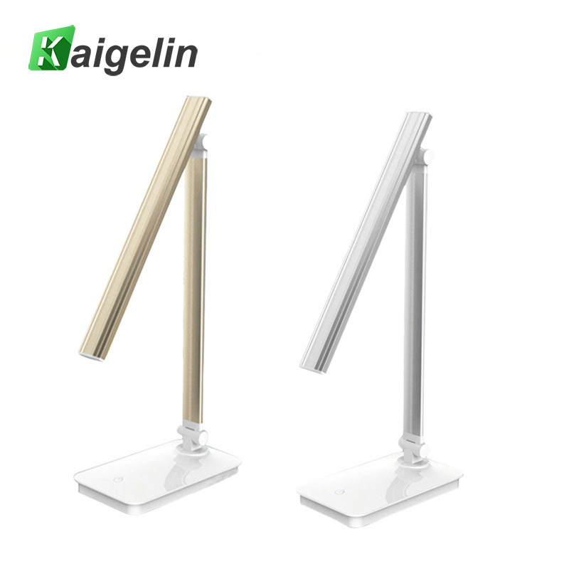 High Quality LED Desk Lamp Table Lamp Folding EyeProtection Dimmable Book Light USB Power Supply Touch Sensor LED Table Lamps sunli house 1 pcs plant desk lamp 2017 new fashhion usb charge led lamp creative folding touch led table lamp storage