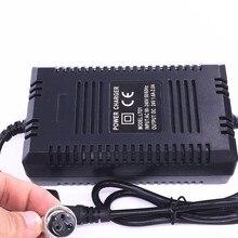 Высокое качество, 24 В, умное зарядное устройство, свинцово кислотная батарея, Электрический скутер, адаптер питания, зарядное устройство для E scooter 24 В 1.8A с вилкой европейского стандарта 220 В