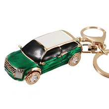 High Quality Car Alloy Keychain Keyring Pendant Car Model Key Chain Ring Holder For Mini Cooper One Countryman Accessories