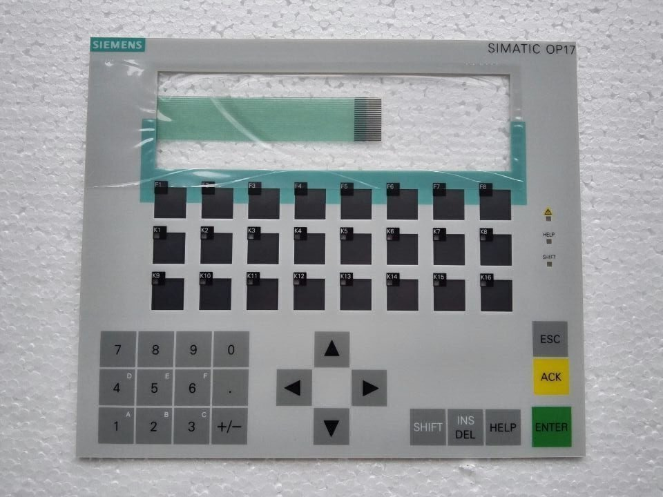 6AV3617 1JC20 0AX1 OP17 Membrane Keypad for HMI Panel repair do it yourself New Have in
