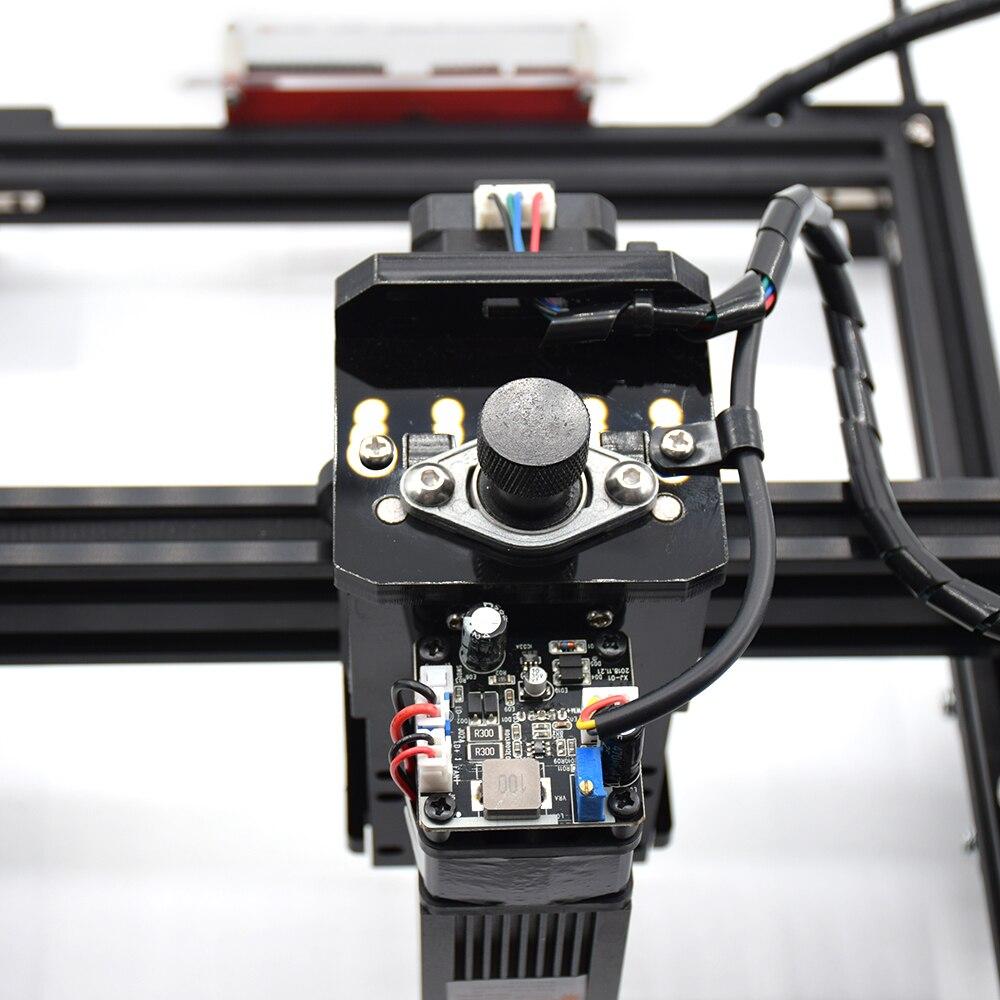 15W CNC Machine de gravure avec 15000mw Laser tête bois routeur PCB verre métal fraiseuse bois sculpture Machine bricolage Mini CNC