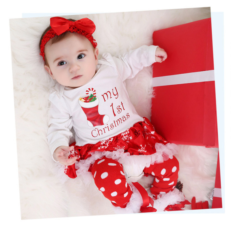 0-24M baby girl romper long sleeve christmas new born baby clothes toddler baby rompers set roupa infantil R27 baby romper girl rompers christmas baby clothes newborn christmas baby gift new born cotton baby christmas clothes 1pcs lot a mc