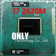 الأصلي إنتل كور المعالج I7 2620 M i7 2620M4M مخبأ 2.7 GHz الدفتري المحمول معالج وحدة المعالجة المركزية شحن مجاني
