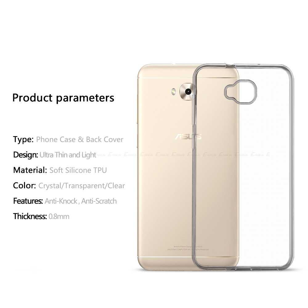 Силиконовый ультратонкий прозрачный мягкий защитный чехол для Asus ZenFone 4 Selfie Lite Pro ZB553KL ZD551KL ZD552KL ZD553KL ТПУ задний Чехол