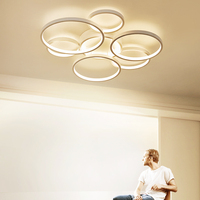 Modern Led Ceiling Lights for Living Room Bedroom Indoor Kitchen Ceiling Lamp Led with Remote Control Lustre Lighting Fixtures