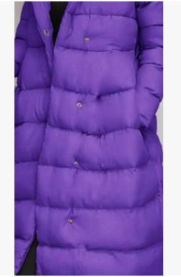 Dans Solide Le Couleurs gris 2017 Et pourpre Manteaux Simple Noir Nouvelles Chaud Vestes La Mode Coton Limitée De Temps Pas Épaisseur Longue rouge D'hiver Quatre Femmes 1g0w8qvn
