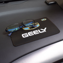 Car Styling PVC Anti-Slip Pad Non-slip Mat Fixed Cell Phone Glasses Mat for Geely emgrand EC7 EC8 X7 GE GT EV8 EX7 gx7 цена