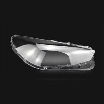 フロントヘッドライトヘッドライトガラスマスクランプカバー透明シェルランプ GT 5 シリーズマスク Bmw 5 シリーズ gt 2012 -2017