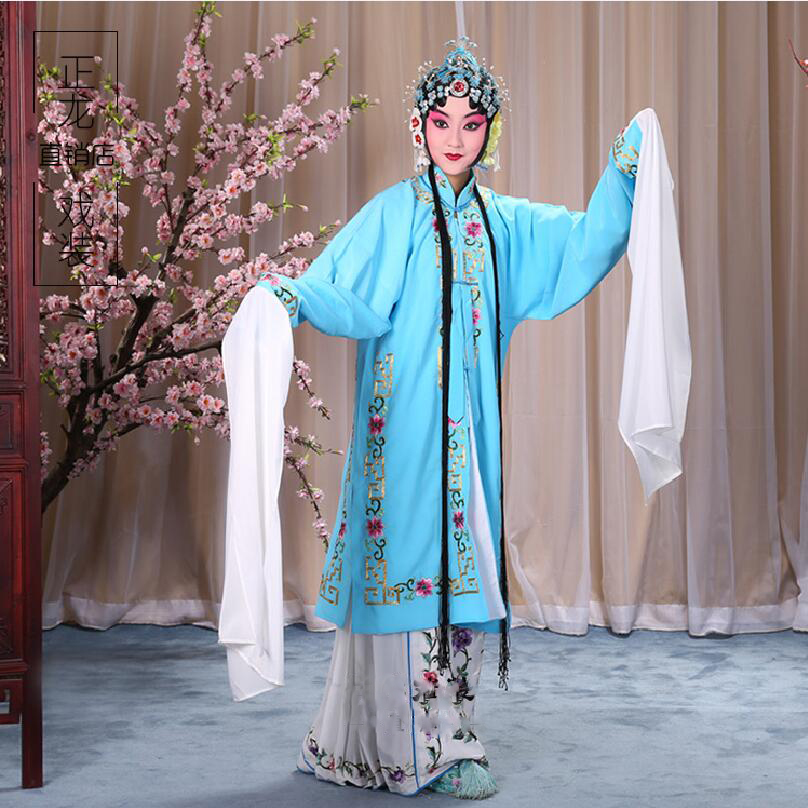 New Chinese folk dance costume embroidered opera clothing Chinese ancient drama stage performance wear