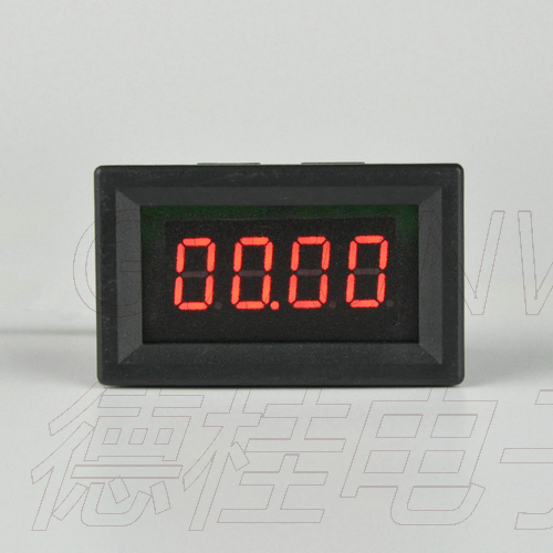 Tools Gwunw By436bj Dc0-50a Digit Ammeter Current Panel Meter Upper Limit Lower Limit Alarm Function Buzzer Output Control Voltage
