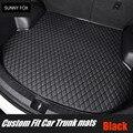 Пользовательские подходящие автомобильные коврики для багажника для Land Rover Range Rover Evoque (L538) 6D всепогодный автомобильный Стайлинг ковер напол...