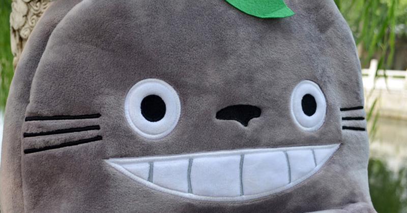 Totoro Children Backpack Plush Baby School Bag Teenagers Shoulder Bag Kid Hayao Miyazaki Toys Boy Girl Schoolbags Mochila BP0175 (9)