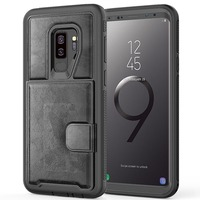 For Samsung Galaxy S9 Case Leather Cover Soft Ultra Thin Shockproof Business Cover Case For Samsung s9 Plus Note 9 Phone Case