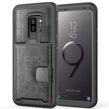42facee206 TPU Luxury Slim Musttrue Phone Case Smart Flip Cover Soft Solid Color  Wallet Cover Ultra Thin Samsung Galaxy S9 Plus Note 9 Case