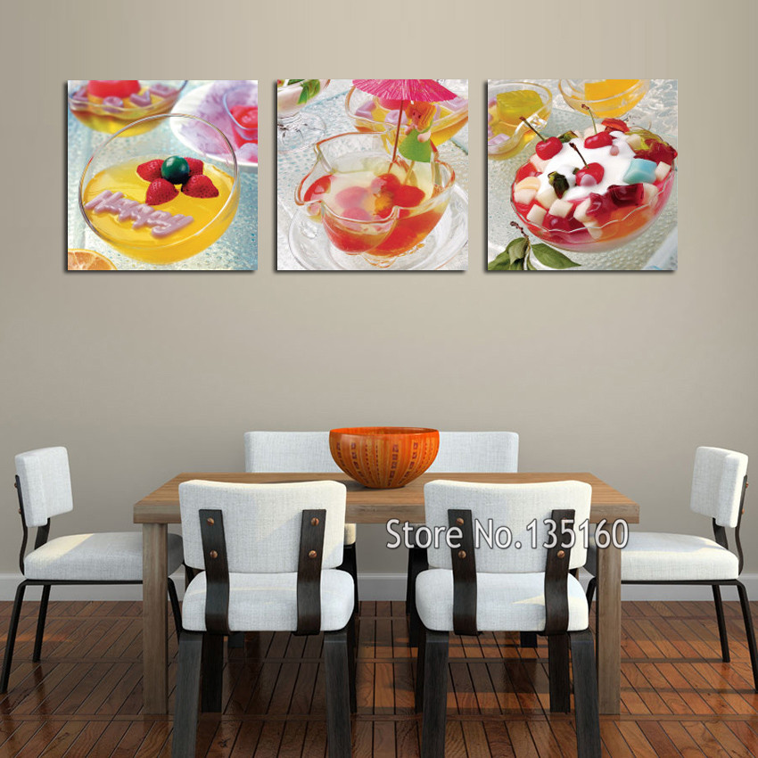 Home Kitchen Decor Picture Fresh Fruit Salad Wall