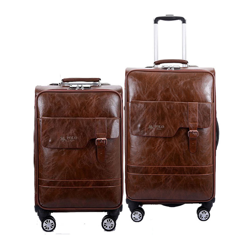PU trolley case,Universal wheel luggage,High quality password lock box,20portable boarding case,24large capacity suitcase  PU trolley case,Universal wheel luggage,High quality password lock box,20portable boarding case,24large capacity suitcase