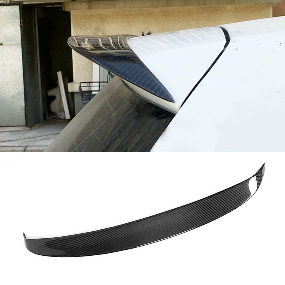 For VW MK7 Carbon Fiber /FRP Rear Roof Trunk Wing Spoiler for Volkswagen Golf 7 VII MK 7 standard Rline 2014-2017 Not GTI and R наклейки dealnium 3d r rline 30