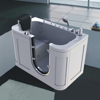 Chinese Factory Bulk Price Portable Walk In Bathtub For Old People
